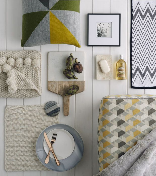 Small Apartment Design With Scandinavian Style That Looks: Emily Henson Scandi Styles M&S For Style And Living Home