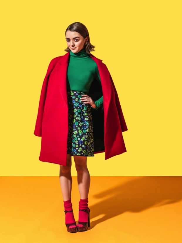 Game Of Thrones Maisie Williams For Guardian Weekend